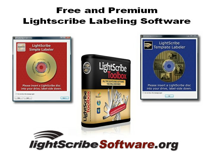LightScribe Software & Support