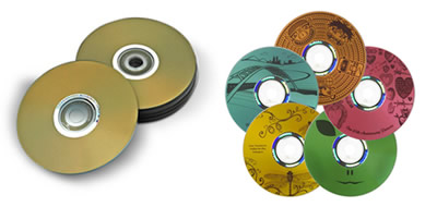 LightScribe DVD and CD Discs