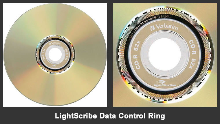 Lightscribe Data Control Ring