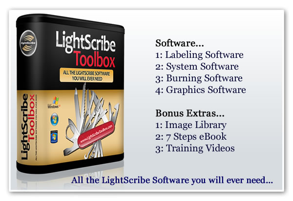 The LightScribe Toolbox - Premium LightScribe Software
