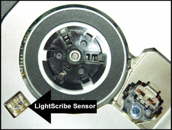 Lightscribe Encoder Sensor
