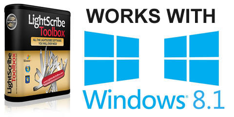 The LightScribe Toolbox Works With Windows 8.1