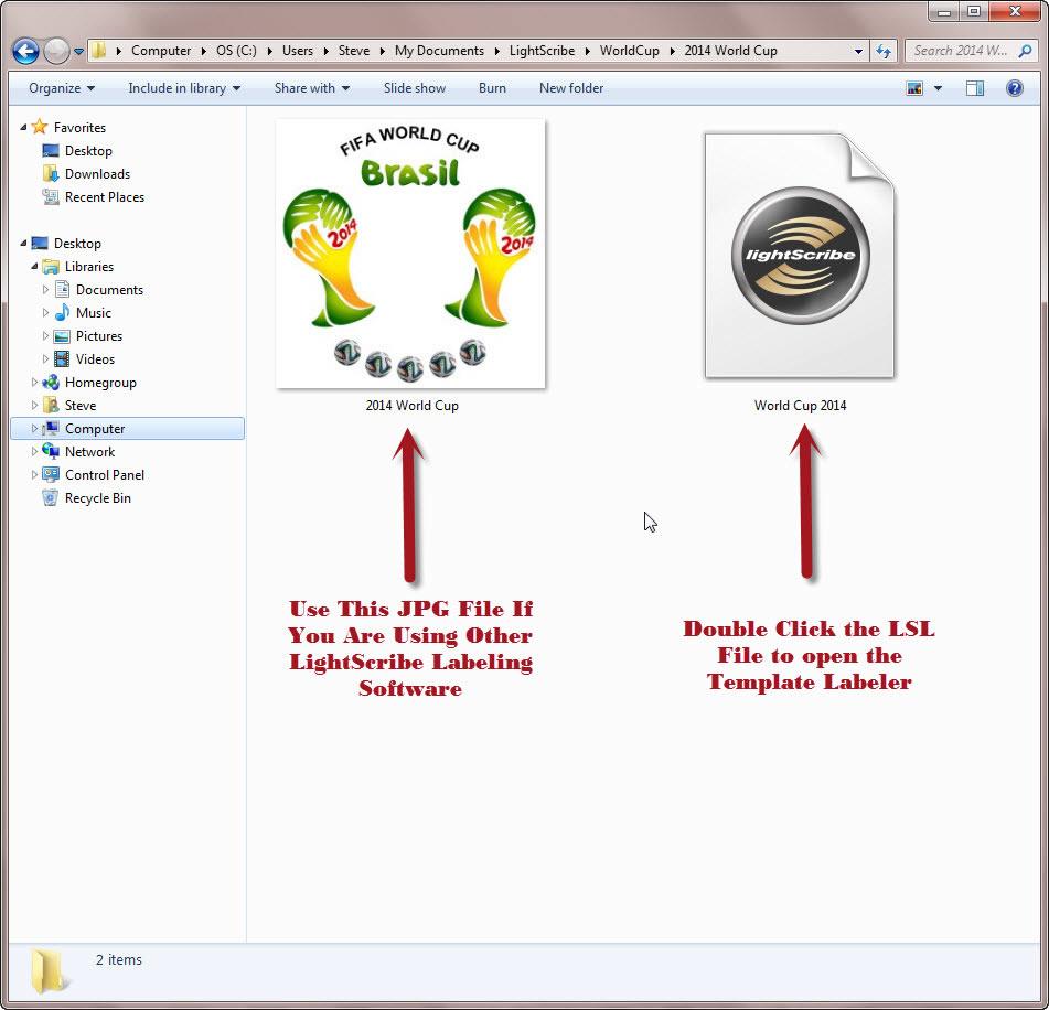 lightscribe label software download