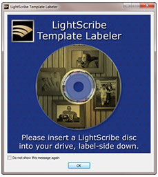 LightScribe Template Labeler Template Packs