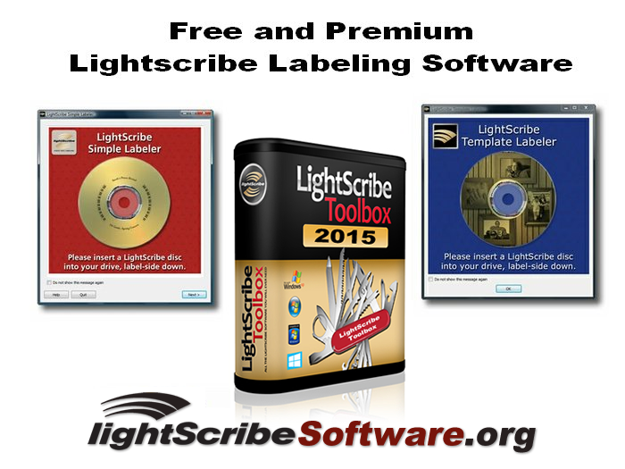 Free and Premium LightScribe Software