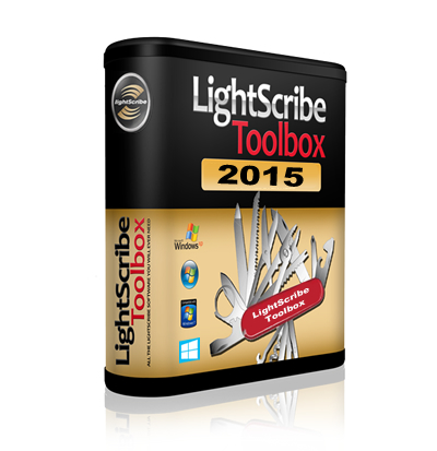 LightScribe Software The LightScribe Toolbox 2015