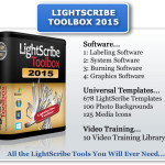 LightScribe Toolbox 2015 Contains All This