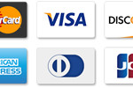 Credit/Debit Cards Accepted Via Stripe