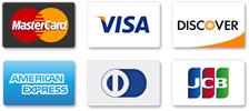 Credit/Debit Cards Accepted Via Stripe