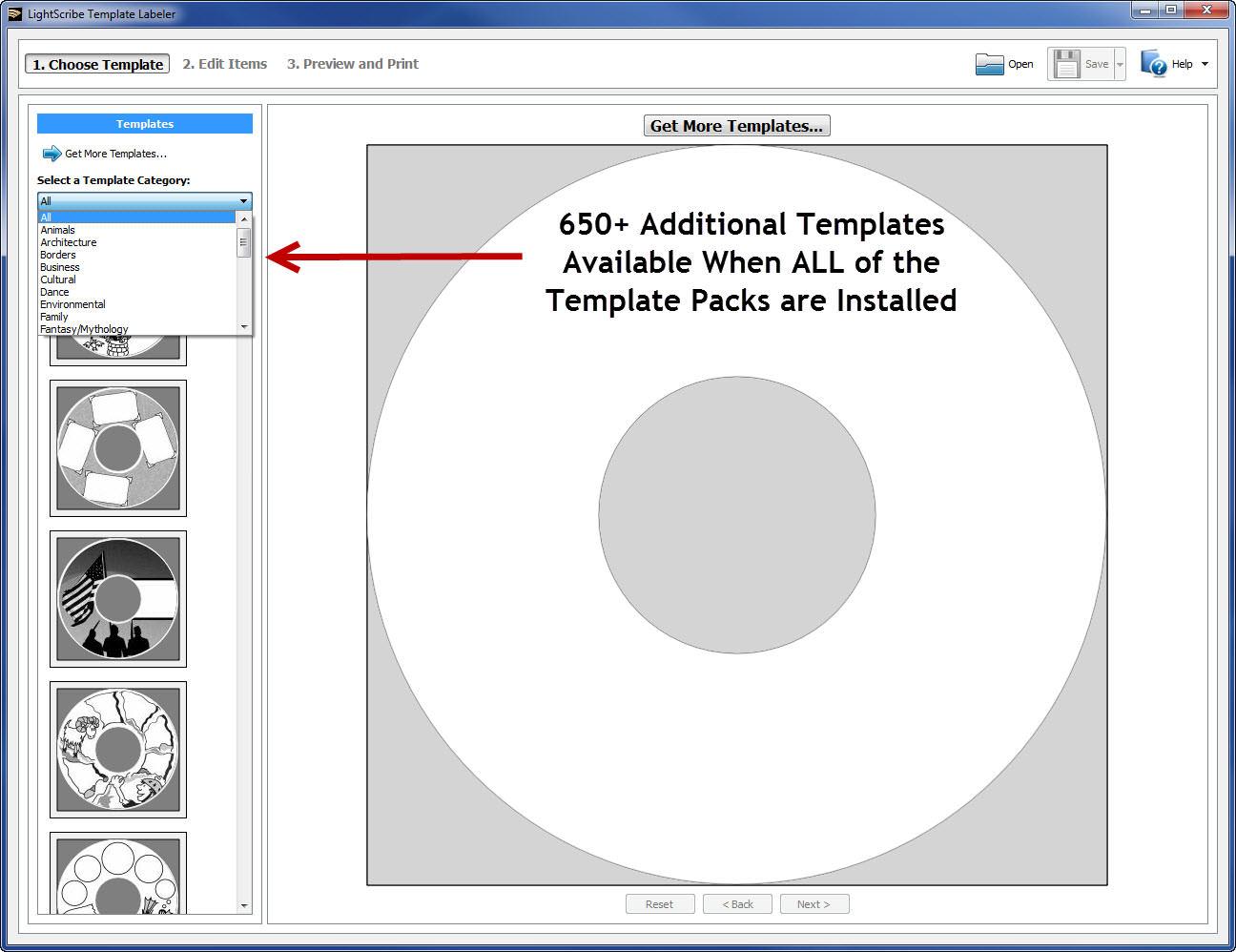 LightScribe Template Labeler Installed