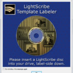 LightScribe Template Labeler