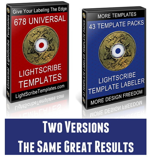 LightScribe Templates | Lightscribe Software - Free and Premium ...