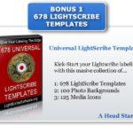 LightScribe Bonus 678 Templates