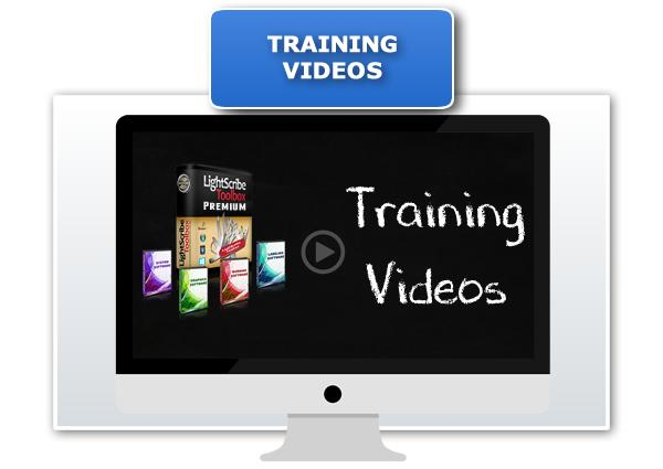 LightScribe Toolbox Premium Training Videos