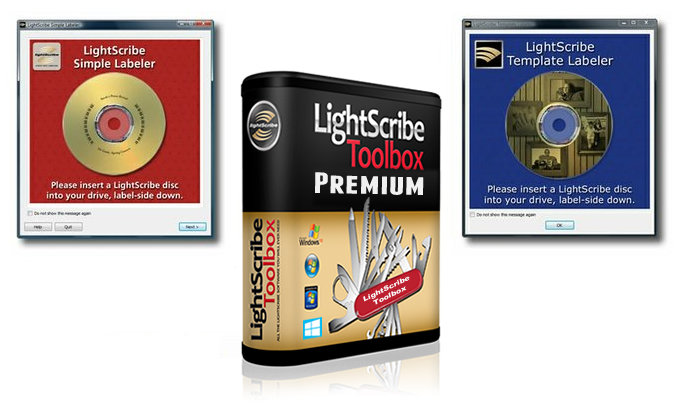 Free LightScribe Software Support