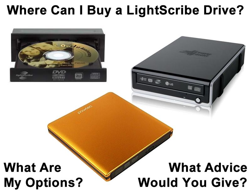 Where to Buy a LightScribe DVD Drive or Burner in 2018